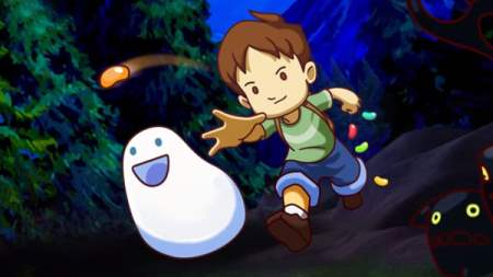 A Boy and his Blob Screenshot