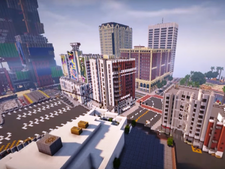 Minecraft Los Santos City
