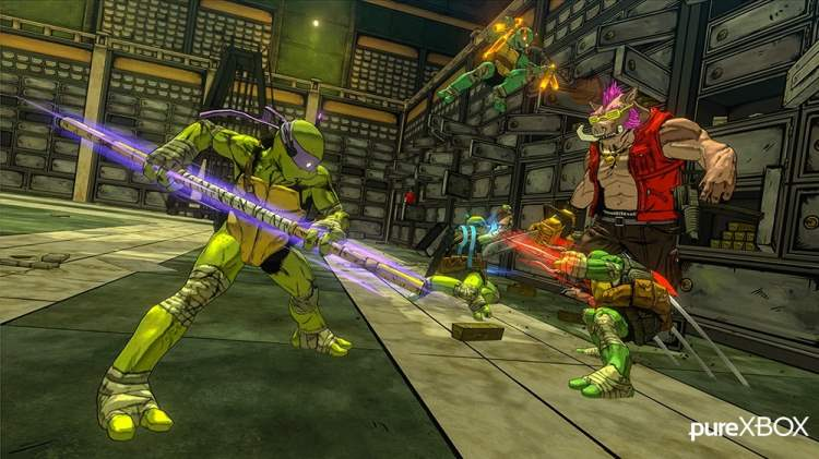 Teenage Mutant Ninja Turtles: Mutants In Manhattan Capture