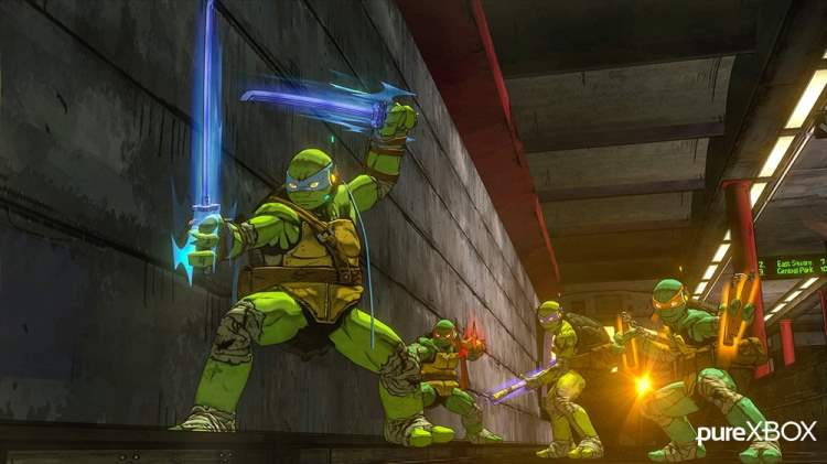 Teenage Mutant Ninja Turtles: Mutants In Manhattan Screenshot