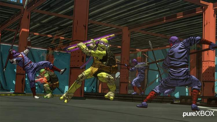 Teenage Mutant Ninja Turtles: Mutants In Manhattan Wallpaper