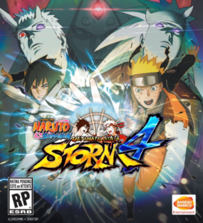 Naruto Shippuden: Ultimate Ninja Storm 4 Box Art