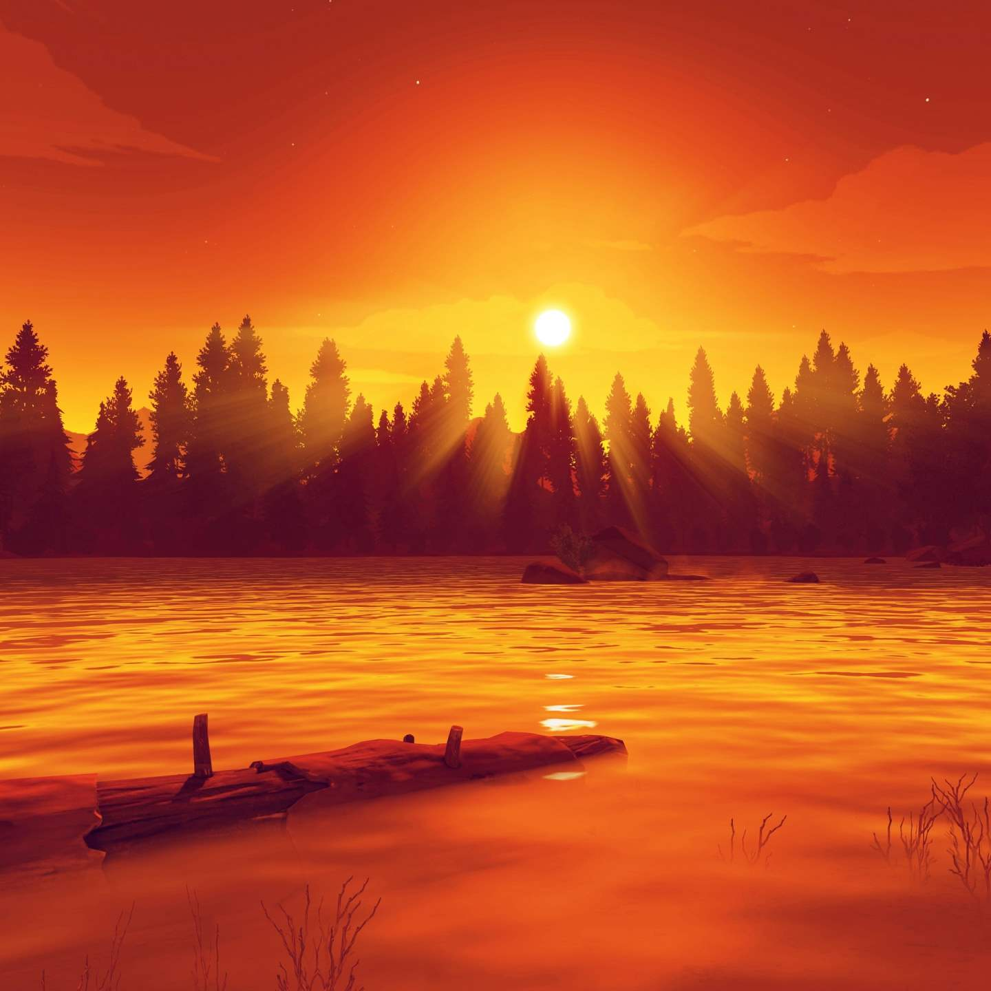 Firewatch Game Screenshot