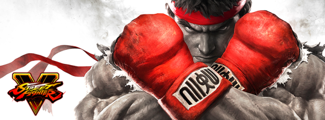 Street Fighter V Official Cover Photo
