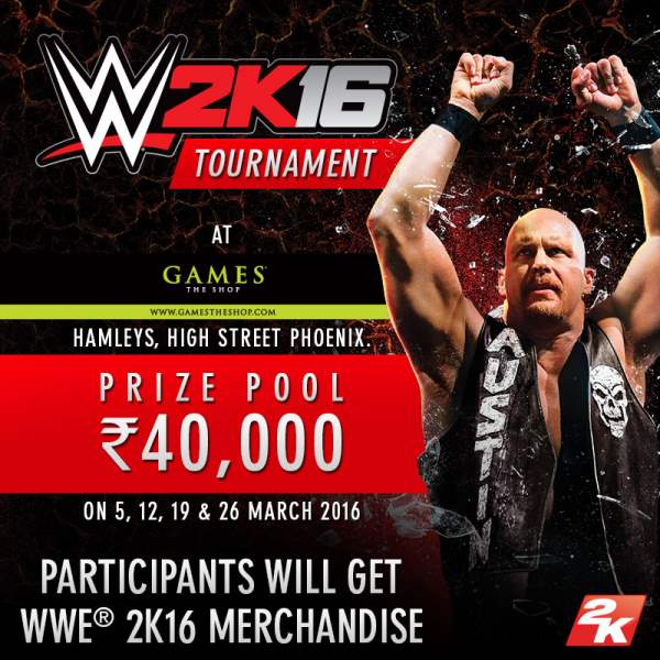 WWE 2K16 Tournament