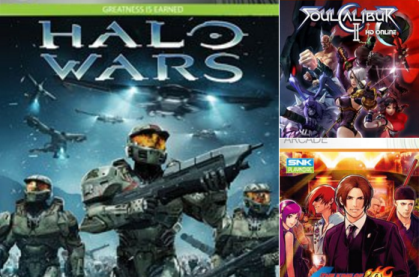 Halo Wars, Soul Calibur II & King of Fighters '98