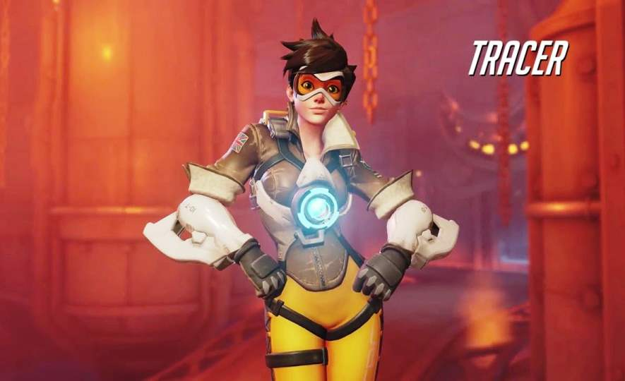 Overwatch Tracer Character