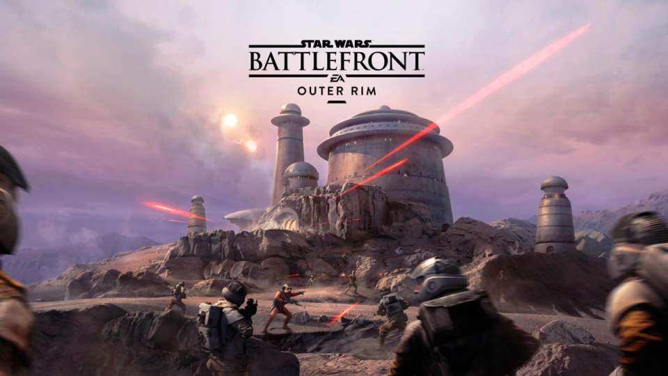 Star Wars Battlefront Outer Rim DLC Screenshot