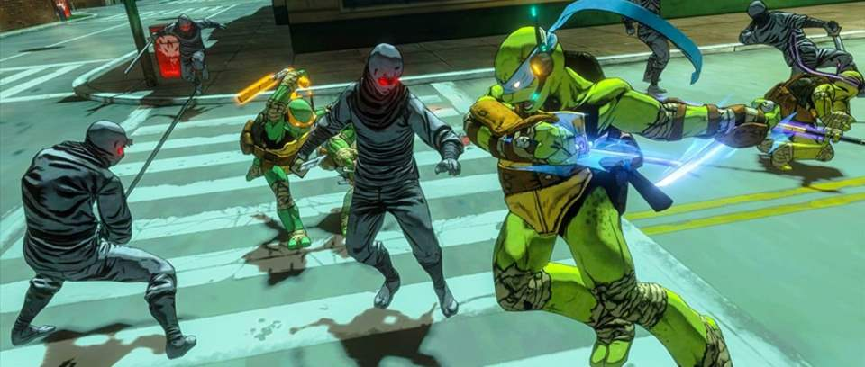 Teenage Mutant Ninja Turtles Mutants in Manhattan Screenshot