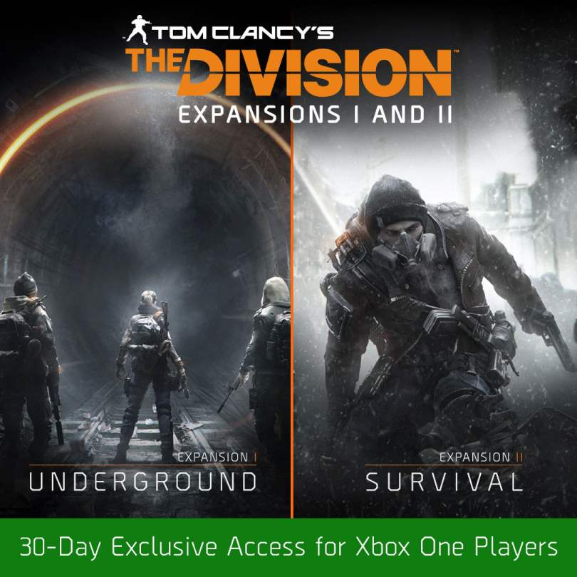 The Division First Two Expansion