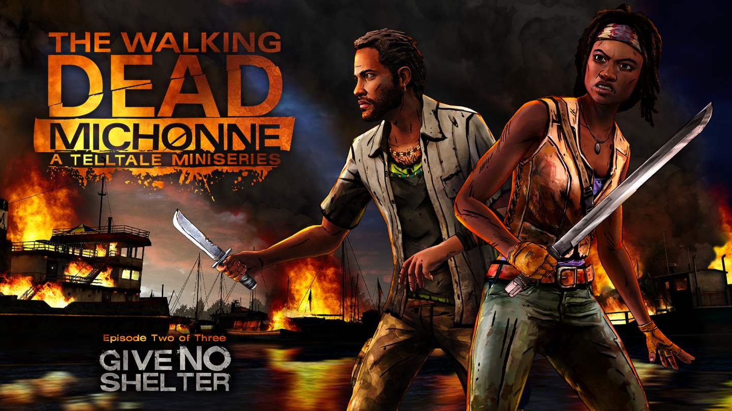 The Walking Dead: Michonne Episode 2 'Give No Shelter'Key Art