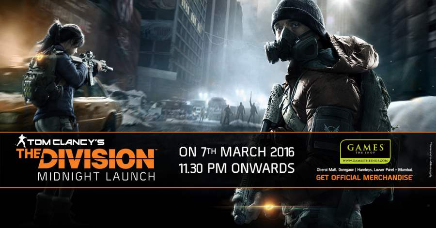 Tom Clancys The Division Midnight Launch at Games The Shop