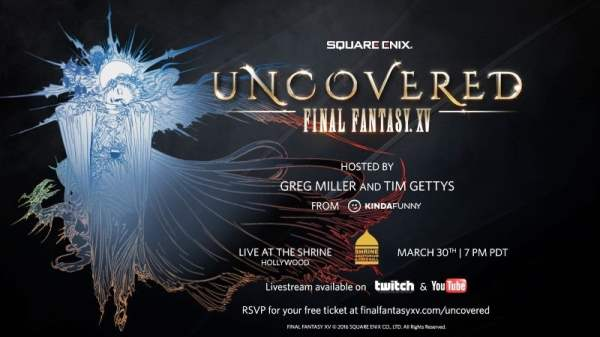 Uncovered Final Fantasy XV Event