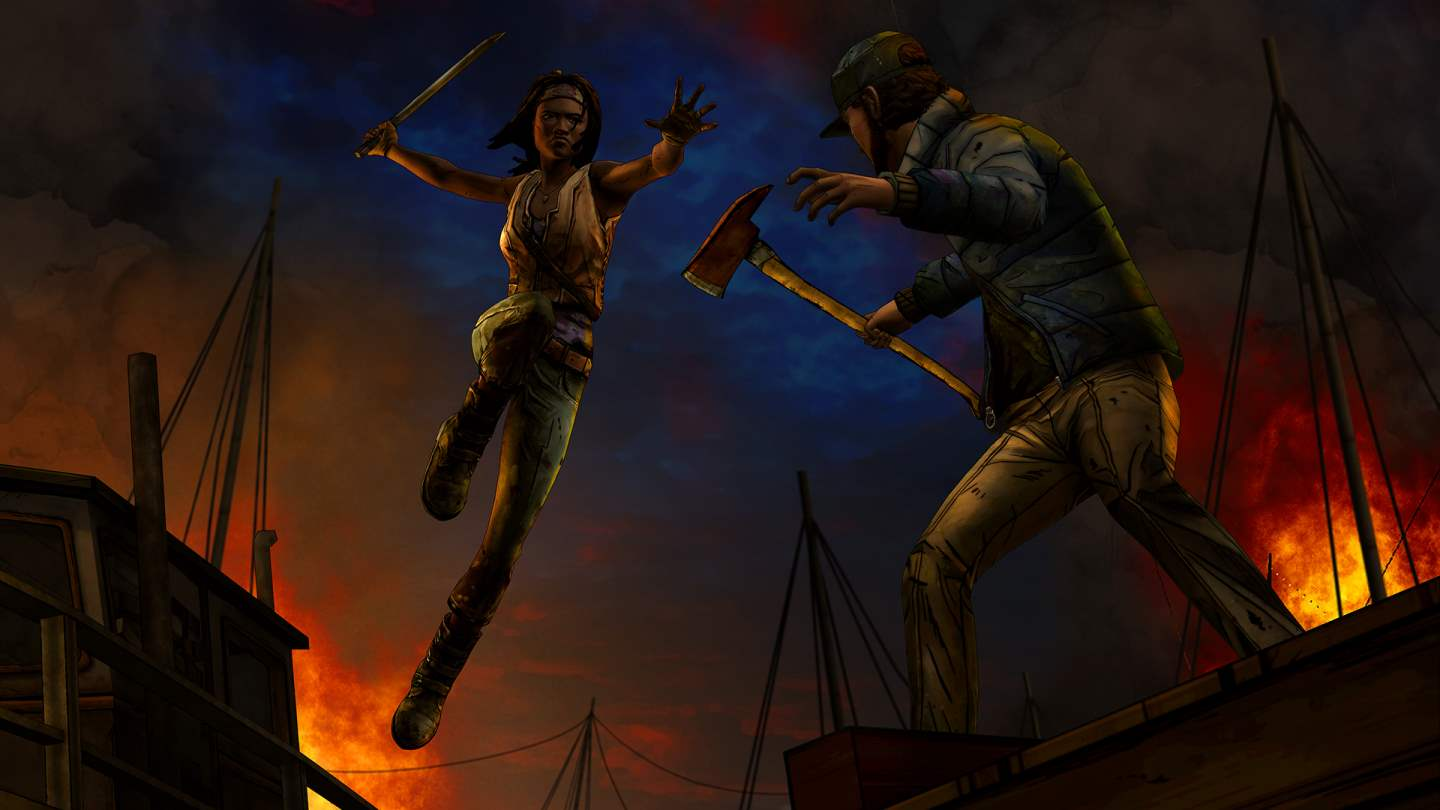 The Walking Dead: Michonne Episode Two 'Give No Shelter'