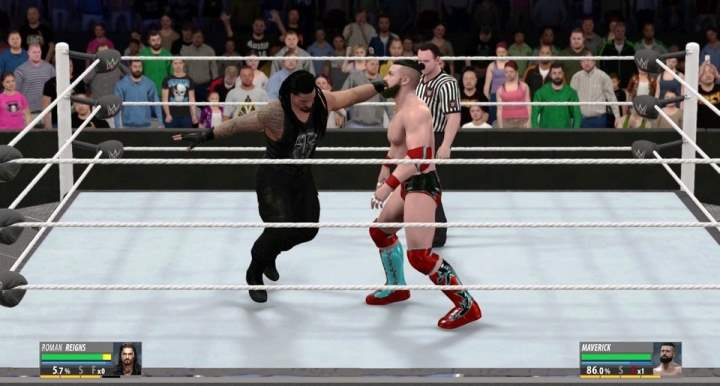 WWE 2K16 Gameplay