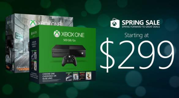 Xbox One Spring Sale