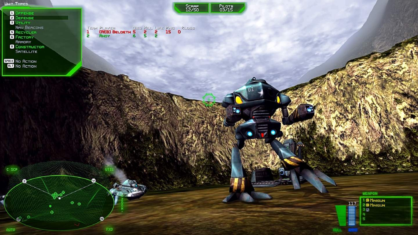 Battlezone 98 Redux Screenshot