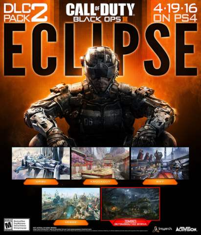 Call of Duty Black Ops III Second DLC Eclipse