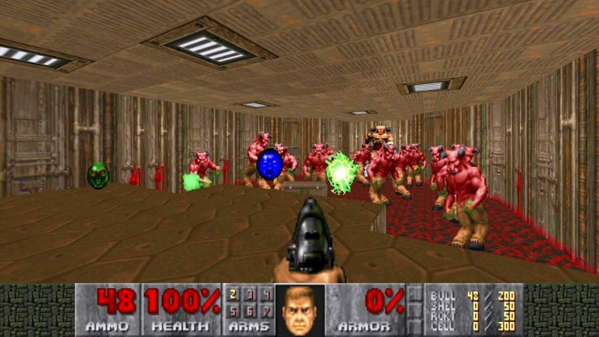 Doom Game Screenshot