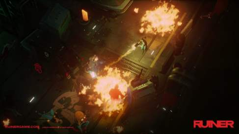 Ruiner Game Screenshot