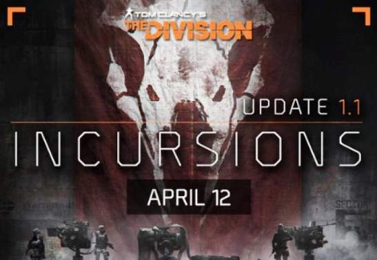 The Division Update 1.1 Incursions