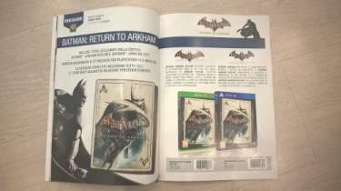 Batman: Return to Arkham HD Box Art