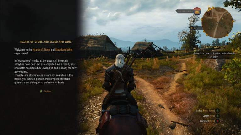 The Witcher 3 Blood and Wine