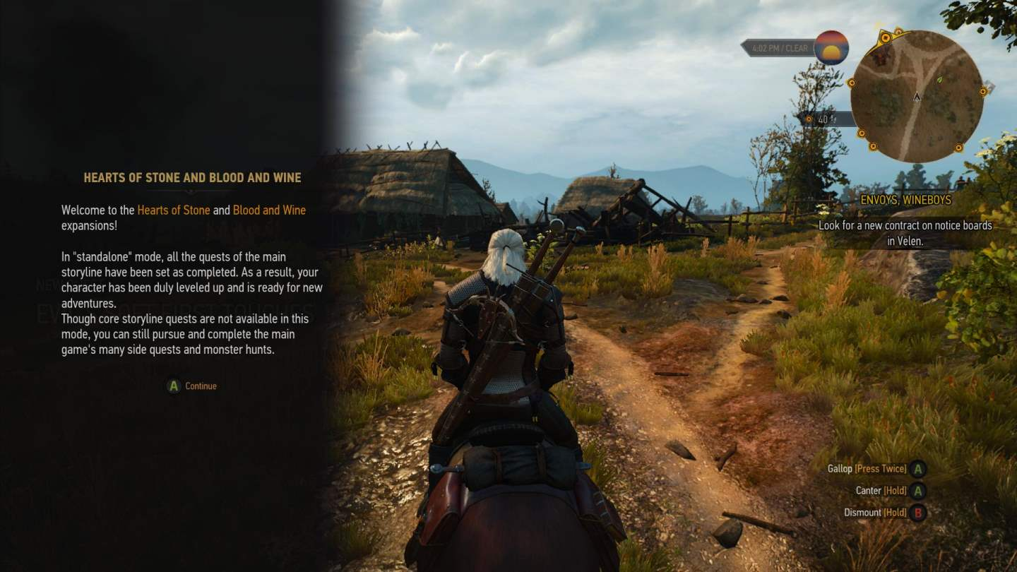 the witcher 3 blood and wine dlc now playable on xbox one already gametransfers. Black Bedroom Furniture Sets. Home Design Ideas