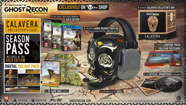 Tom Clancy's Ghost Recon Wildlands COLLECTOR EDITION