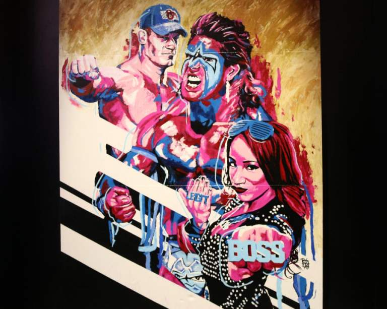 FINALE 3 ART - John Cena_Sasha_Ultimate Warrior