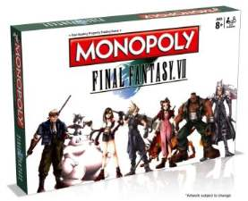 Final Fantasy VII Monopoly board game