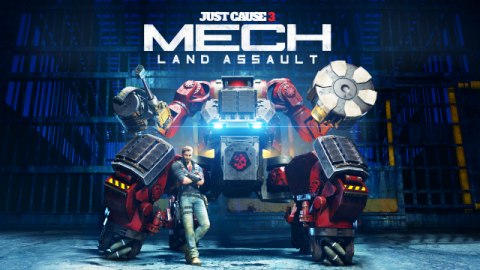 Just Cause 3 Mech Land Assault DLC