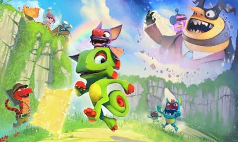 Yooka-Laylee Game Screenshot