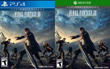 Final Fantasy XV North American Cover Art