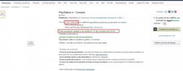 PS4.5 Neo Amazon Spain