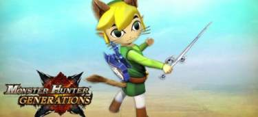 TLOZ The Wind Waker Monster Hunter Generations Principal