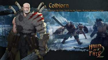 Hand of Fate 2 Companion Colbjorn