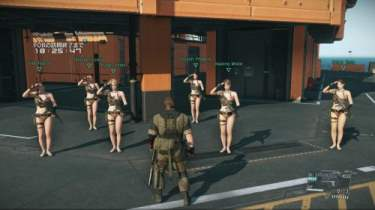 Metal Gear Solid V: The Phantom Pain Swimwear Pictures