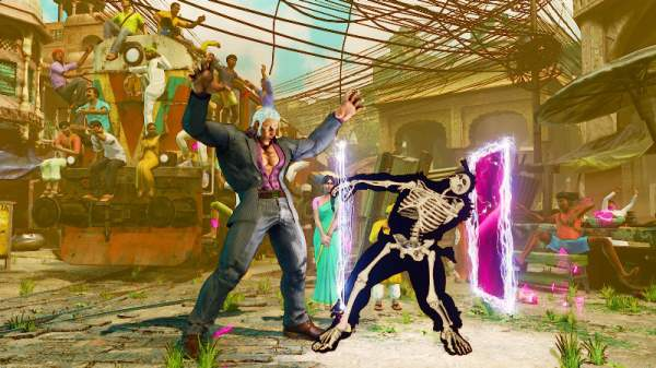 Street Fighter V's Urien Gets His Own Trailer