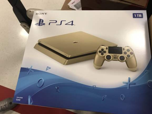 PS4 Slim Gold Edition coming in June 2017?