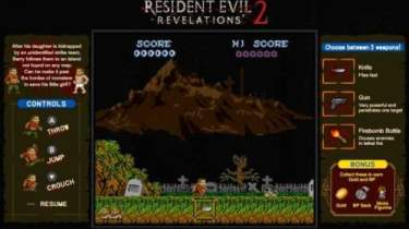 Resident Evil Revelations 1 + 2 gets two retro minigames on Switch