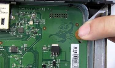 Master Chief is hidden inside the Xbox One X riding a scorpion