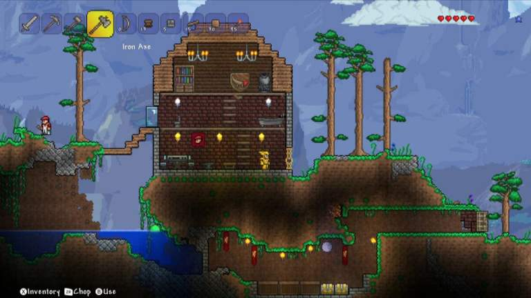 Terraria Wii U Screenshot