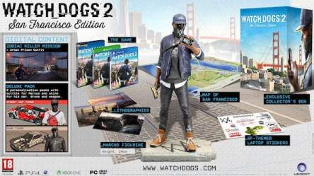 Watch Dogs 2 pre-order editions