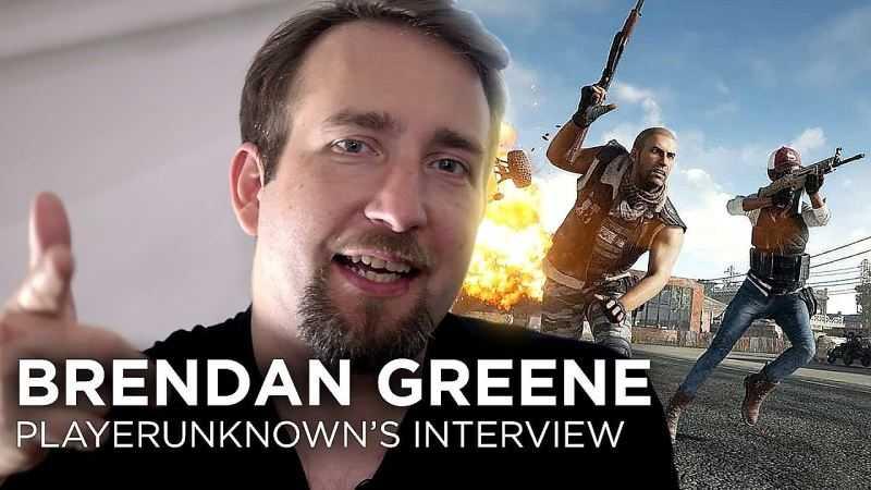 Brendan Greene PlayerUnknown's Battlegrounds