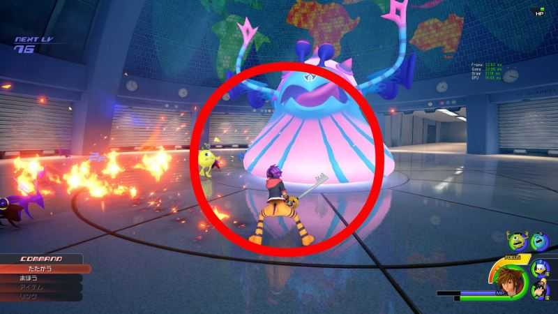 Monsters Inc. World in Kingdom Hearts 3