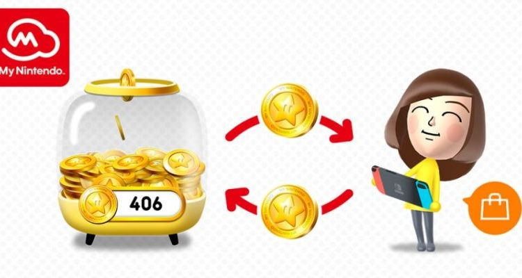 My Nintendo Gold Points Can Be Used On Nintendo Switch From March