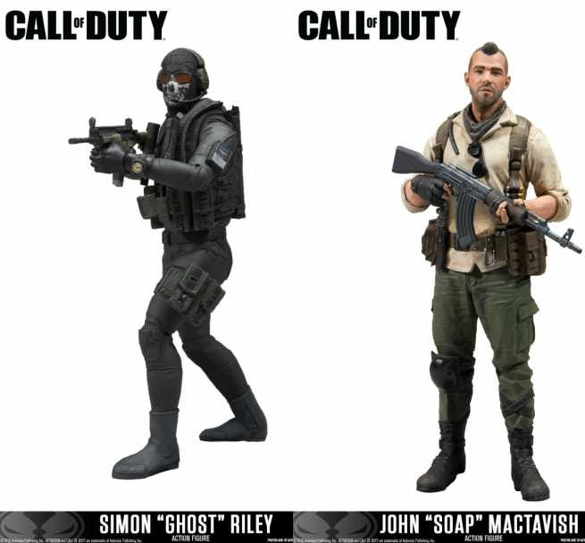 New Call of Duty Figures