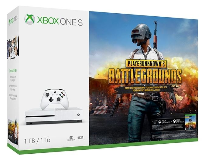 Xbox One S Bundle With PlayerUnknown's Battlegrounds