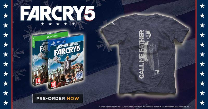 Far Cry 5 Pre-Order Offer